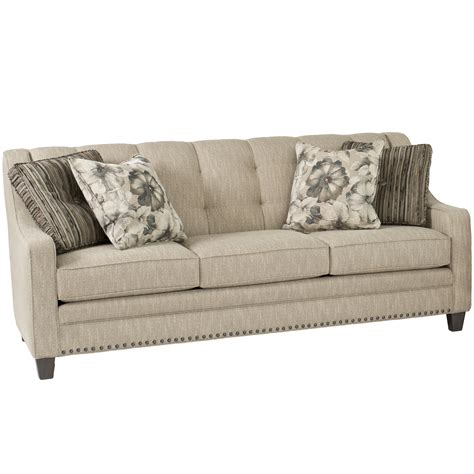 tufting sofa smith brothers 203 transitional sofa with tufting dunk