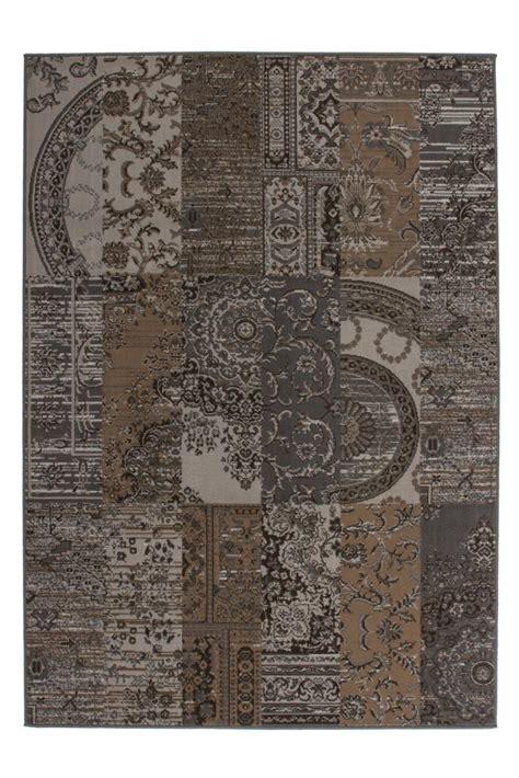 teppich braun g nstig vintage teppich patchwork braun orient g 252 nstig kaufen
