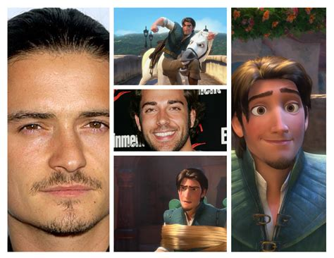 orlando bloom voice flynn rider looks an awful lot like rapunzel eugene