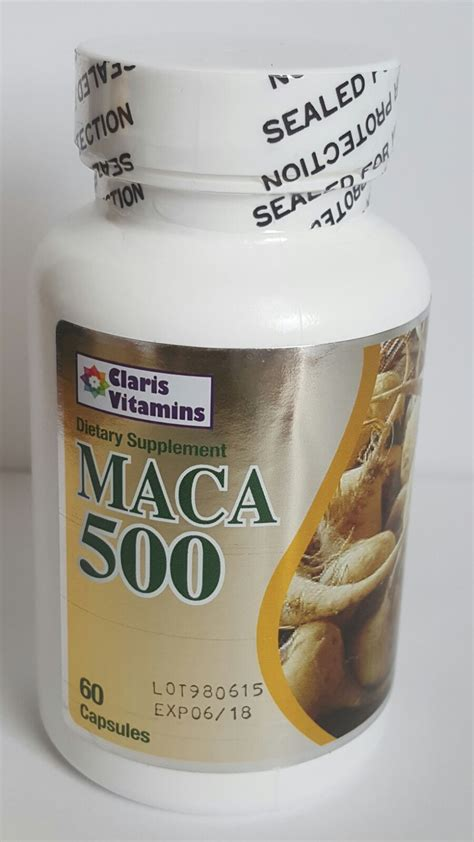 2 maca 500 60 caps make your bigger pills get