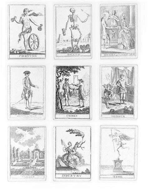 Printable Tarot Card Deck