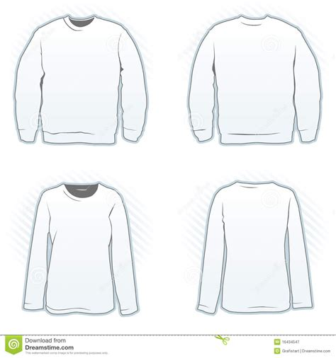 crewneck template sweatshirt outline www imgkid the image kid has it