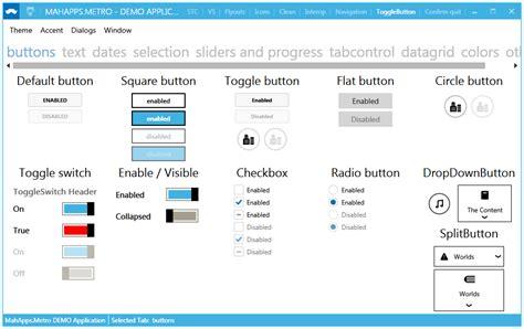xaml ui layout wpf modern touch based ui for windows desktop app on c