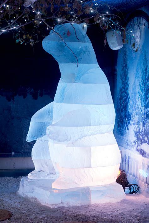 ice bar installations  festivals sand   eye