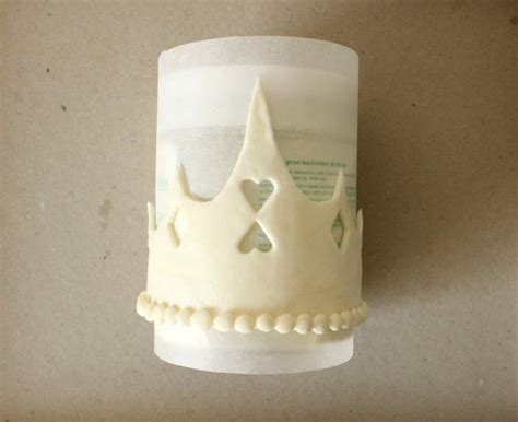 fondant crown template fit for a princess the simple sweet