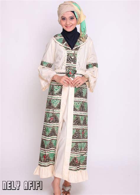 desain baju gamis pengantin contoh pakaian hijab syari untuk pernikahan baju
