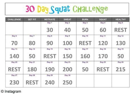 60 days squat challenge 30 days squat challenge la mode vue par lya