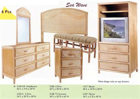 bedroom furniture hawaii island collections kauai bedroom furniture new rattan