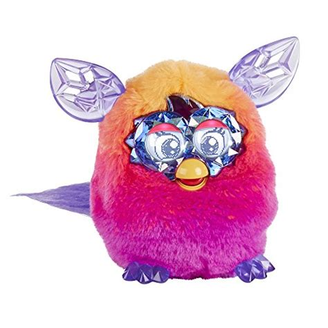 Furby Boom Orange Plush furby boom series furby orange pink