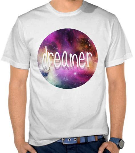 jual kaos galaxy dreamer galaxy satubaju