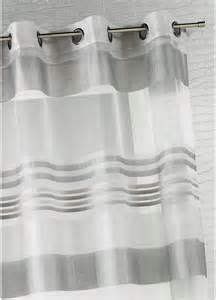 voilage organza rayures horizontales tiss 233 es gris