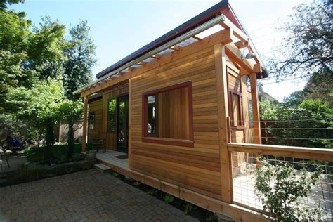 tiny house getaway test drive a mini cabin in rural new york why not try a tiny house on for size