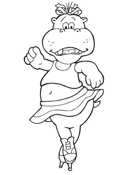 coloring pages jeffy hippopotamus coloring page coloring home