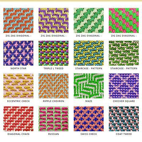 pattern colours in casting 25 unique two color knitting patterns ideas on pinterest