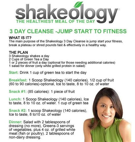 3 Day Detox Results by Team Hodgins Health And Fitness Shakeology 3 Day Cleanse