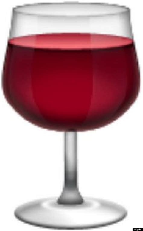 wine emoji the definitive ranking of the 100 best emoji huffpost