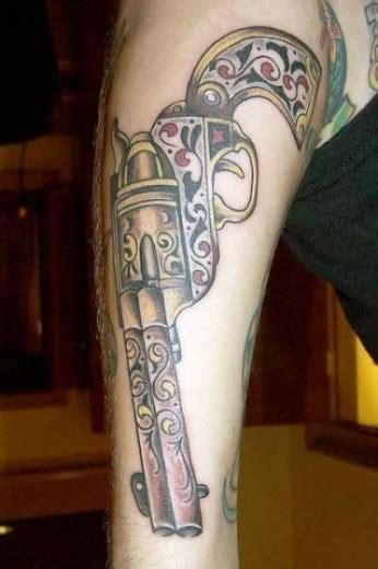 weapon tattoos weapons tattoos designs pictures