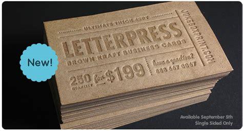 printable kraft paper business cards printing company juke box print provides full colour
