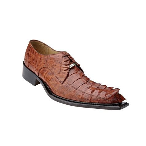 belvedere boots belvedere zeno hornback shoes antique cognac