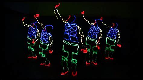 Stopl Squad Ulir Led act illuminate black light el squad laser led amazing india delhi mumbai zenith