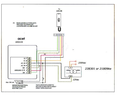 acet intercom wiring diagram acet intercom wiring help general security fire