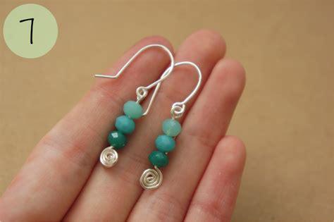 Simple Handmade Earrings - simple handmade craft guide spiral earrings sykes