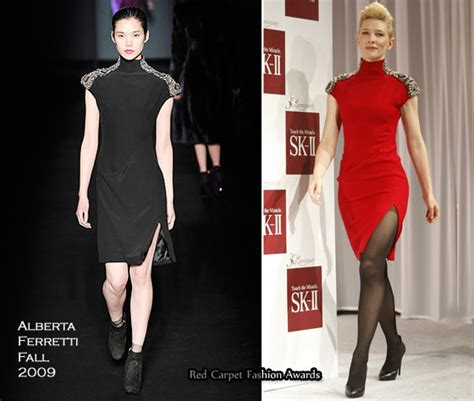 Catwalk To Carpet Cate Blanchett by Runway To Skii 30th Anniversary Ceremony Cate Blanchett