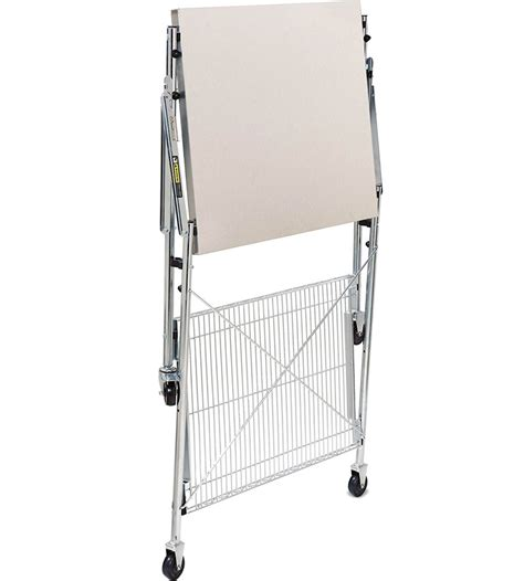 Folding Utility Table by Stainless Steel Folding Utility Table In Kitchen Island Carts