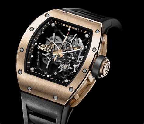 Richard Mille Rm 3501 Rubber Gold news richard mille releases the rm 035 black toro and rm