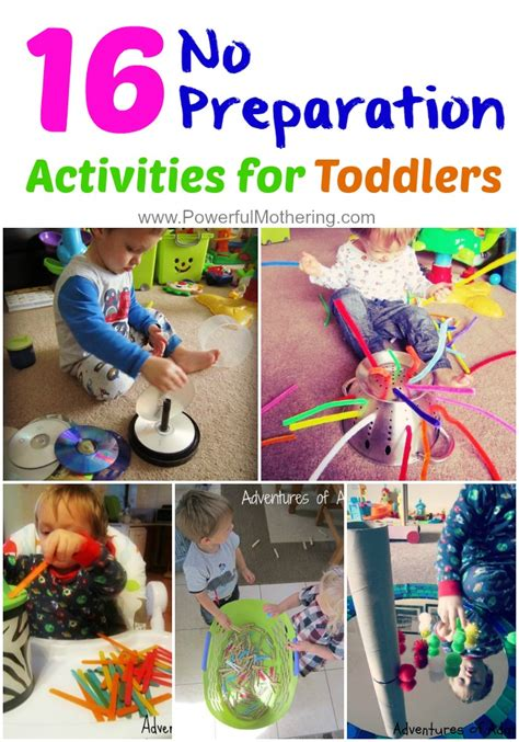 activities for toddlers 16 no preparation activities to keep toddlers busy