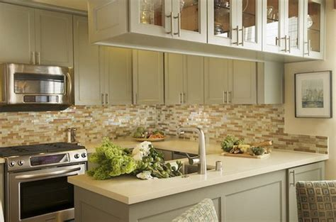 green glass backsplashes for kitchens step by steps installing kitchen peninsula cabinets home