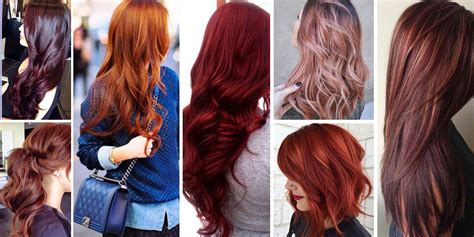 different shades of red hair color names red hair and the 21 most popular red hair color shades