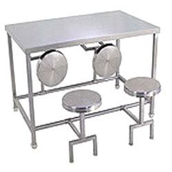 stainless steel dining table set manufacturer in delhi