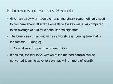 Binary Search Does Comparisons In The Worst Algorithm Data Structures Lec4 5