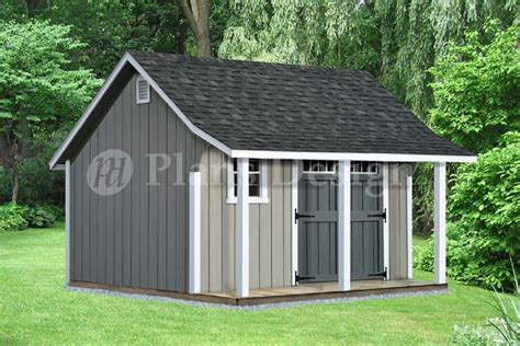 shed with porch plans free 14 x 12 backyard storage shed with porch plans p81214 free material list