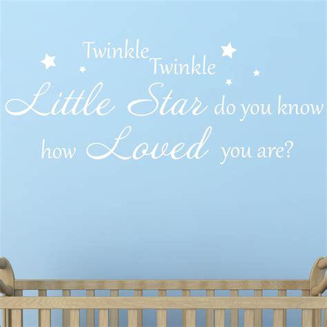 twinkle twinkle wall sticker v1 wallstickers