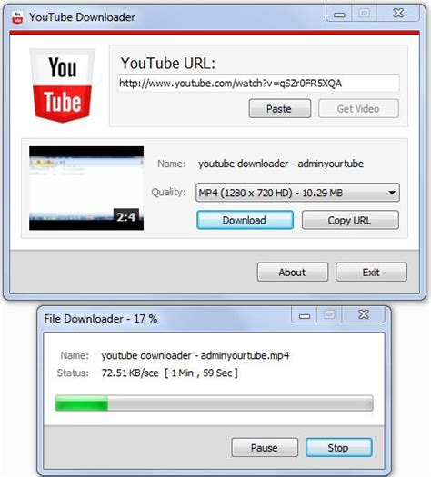 download youtube via web c youtube downloader using c