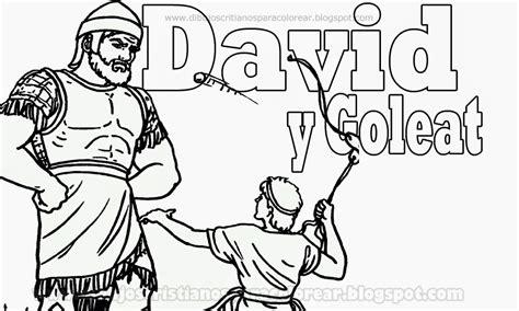 dibujos para colorear de david y goliat david y goliat para colorear dibujos cristianos