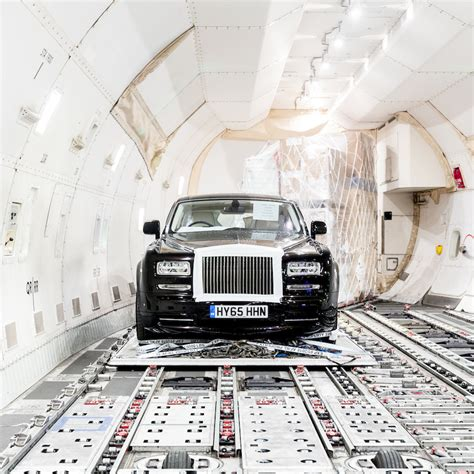 roll royces how many rolls royces fit on a freighter klm
