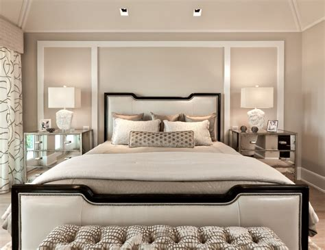 classic contemporary transitional bedroom miami by
