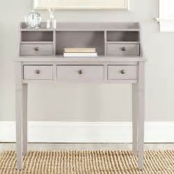 safavieh landon grey writing desk