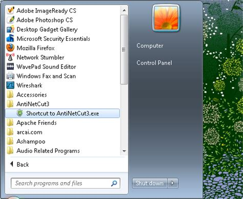 tutorial using netcut jadoel it tutorial menggunakan anti netcut 3 di windows 7