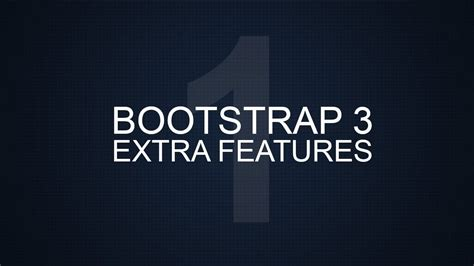 bootstrap navbar tutorial youtube bootstrap 3 extra tutorials 1 breadcrumbs youtube