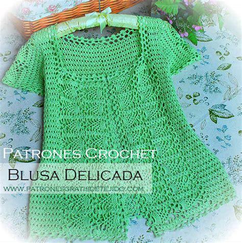 ver a travs de la blusa ganchillo blusa patrones tallas grandes de blusa delicada para tejer con ganchillo patrones y