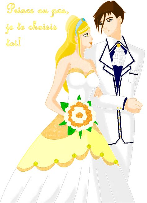 winx bloom and sky wedding stella wedding without veil by beatrice team on