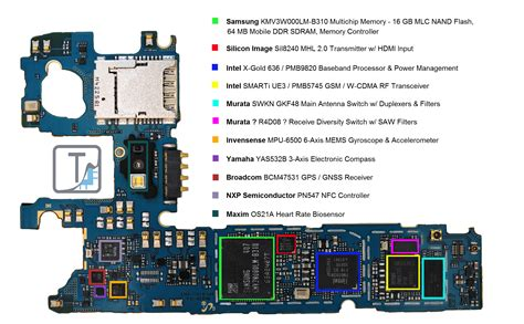 Ic Nand Flash 16gb Dengan Isi Program 5g 5c 5s 6g 6plus Kd 001127 samsung galaxy s5 teardown