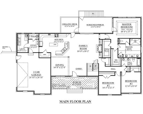 heritage homes floor plans southern heritage home designs house plan 3420 a the