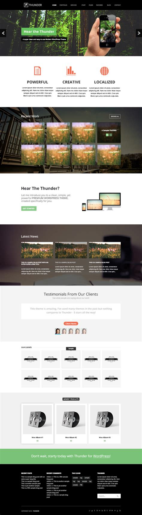 free cool website templates 25 cool free psd business website templates