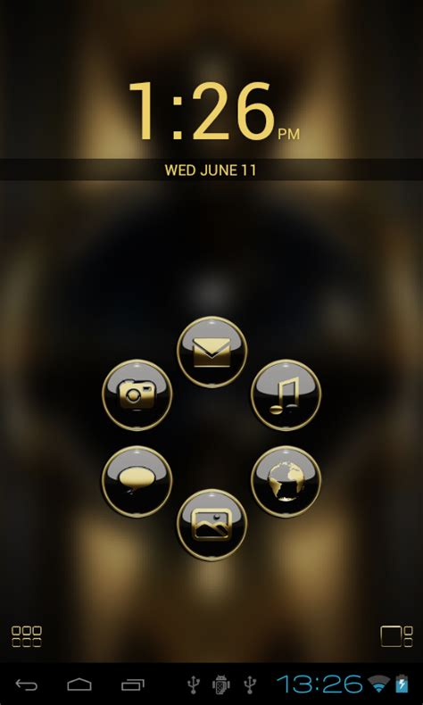 themes smart launcher pro smart launcher theme b gold android apps on google play