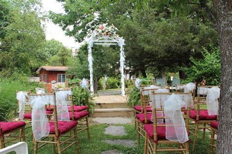 Arbor Wedding Locations by Arbor Wedding Location Picture Of Rock Cottage Gardens B